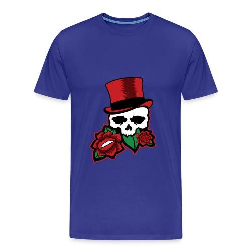 Skull Rose - Men's Premium T-Shirt