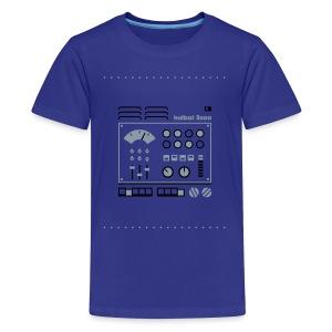 Kidbot 3000 [Slv/Blk on Blu] - Kids' Premium T-Shirt