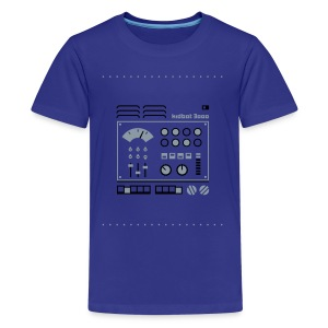 Kidbot 3000 [Slv/Blk on Blu] - Kids' Premium T-Shirt