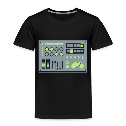 Kidbot [Slv/Grn on Blk] - Toddler Premium T-Shirt