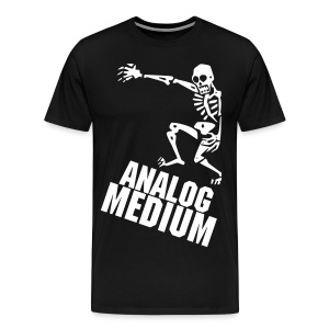 AM Slanty Skeleton - Men's Premium T-Shirt