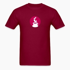 Burgundy coffee_cup_v3_2c T-Shirts