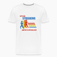 Natural Old School Frank Streaking T-Shirts