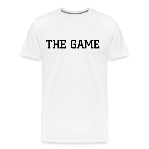 THE GAME shirt - Men's Premium T-Shirt