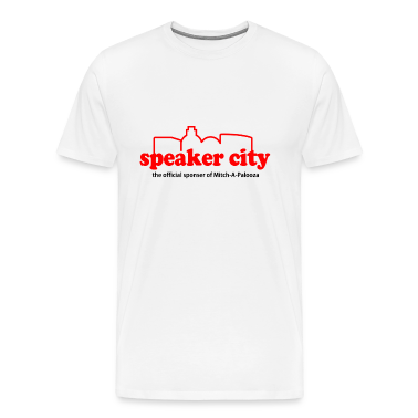Natural Old School Speaker City T-Shirts