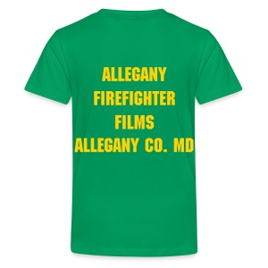 Allegany Firefighter Films Childrens T-shirt - Kids' Premium T-Shirt