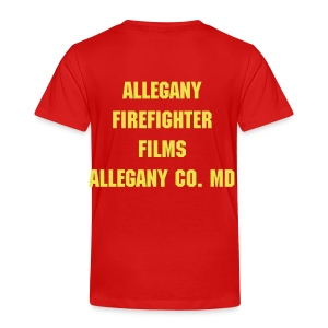 Allegany Firefighter Films Toodler T-Shirt - Toddler Premium T-Shirt