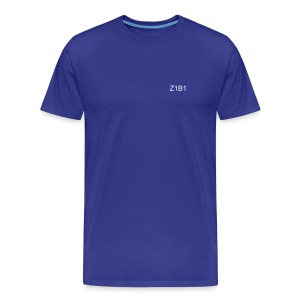 Z1B1 BRAND LOGO.  Let them know.  The one be one! - Men's Premium T-Shirt