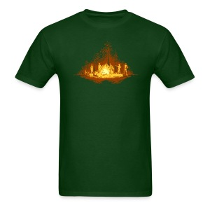 Camp Fire - Men's T-Shirt