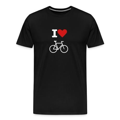 Love my bike - Men's Premium T-Shirt