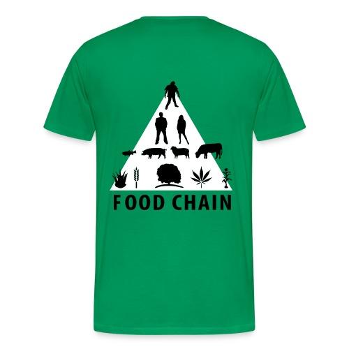 zombie t-shirt - Men's Premium T-Shirt