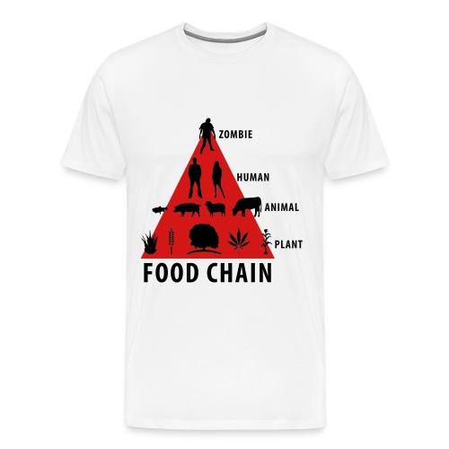 food chain - Men's Premium T-Shirt