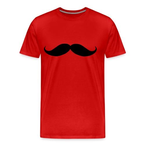 Mens Stache shirt - Men's Premium T-Shirt