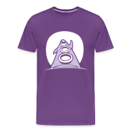 T-Shirts ~ Men's Premium T-Shirt ~ Day of the Tentacle (Purple Tentacle)