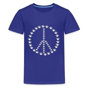 Peace for Paws  - Kids' Premium T-Shirt