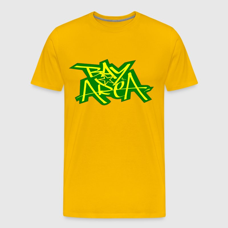 Bayarea ylw6 grn t shirt spreadshirt for South bay t shirts