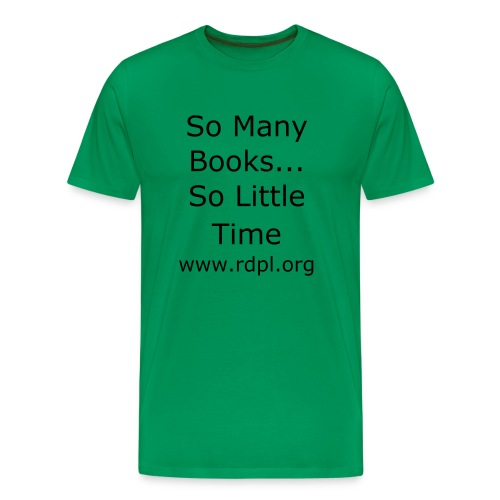 So Many Books Men's T-shirt - Men's Premium T-Shirt