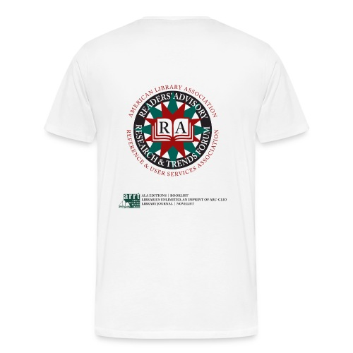 American Library Association: Readers' Advisory Research and Trends Forum - Men's Premium T-Shirt