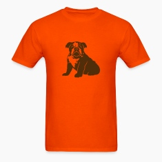 Orange bulldog_puppy_v1_1c T-Shirts