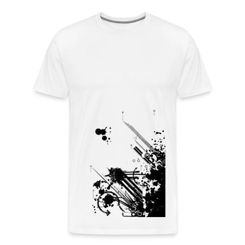 Splash Tagged - Men's Premium T-Shirt