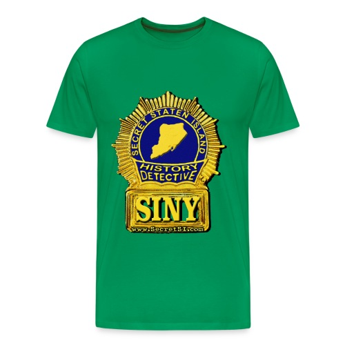 Secret Staten Island History Detective, Men's Heavyweight Tee - Assorted Colors - Men's Premium T-Shirt