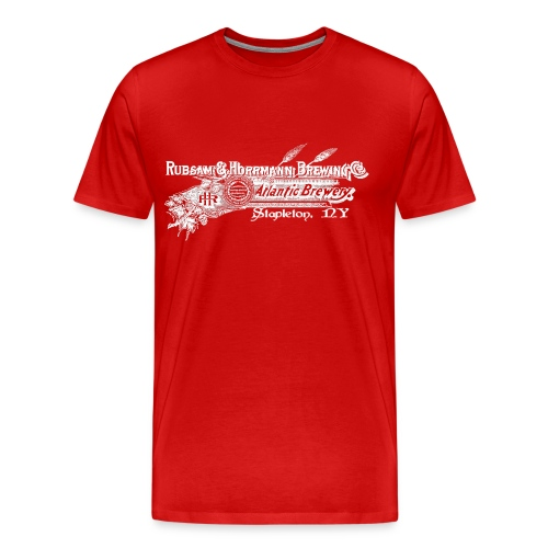 DELUXE Edition R&H Rubsam & Horrmann Brewery 2-sided Staten Island Red Heavyweight Shirt, Mens - Men's Premium T-Shirt