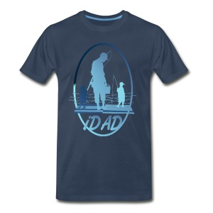 iDAD framed - Men's Premium T-Shirt
