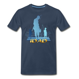 iDAD in gold - Men's Premium T-Shirt