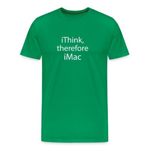 Descartes does Mac - Men's Premium T-Shirt