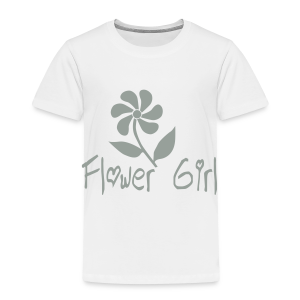 Flower Girl - Toddler Premium T-Shirt
