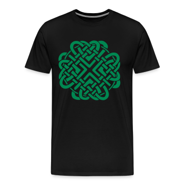 Black Celtic Love Knot T-Shirts