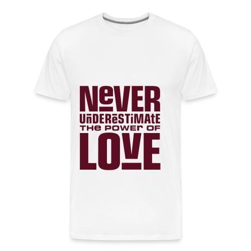 power of love - Men's Premium T-Shirt