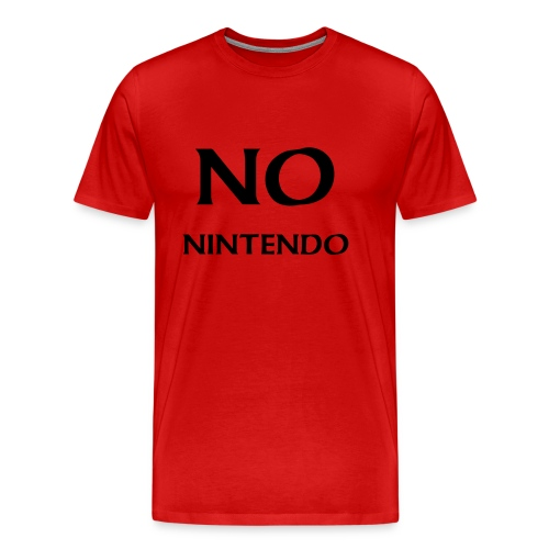 No nintendo shirt - Men's Premium T-Shirt