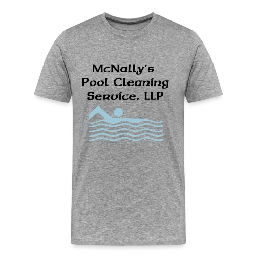 McNally's Pool Service Uniform - Men's Premium T-Shirt