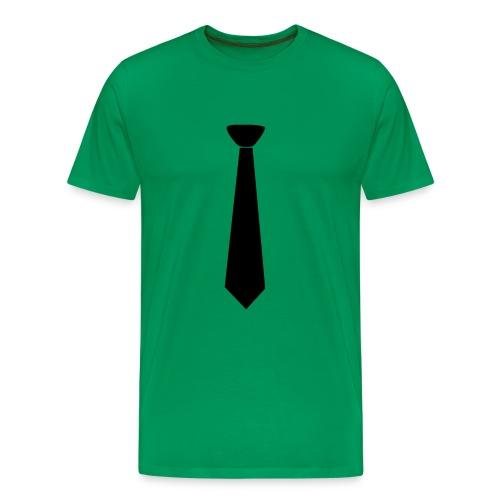 Tie Shirt - Men's Premium T-Shirt