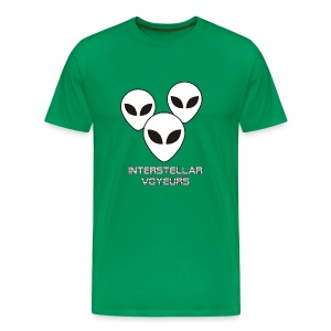 Interstellar Voyeurs - Men's Premium T-Shirt