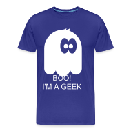 T-Shirts ~ Men's Premium T-Shirt ~ Stop Staring, I am a geek T-Shirt