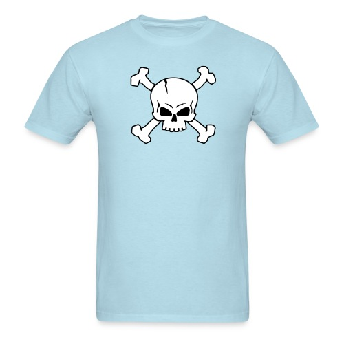 Crossed Skull (2C) - Men's T-Shirt