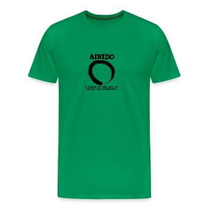 Aikido Peace - Men's Premium T-Shirt