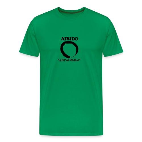 Aikido Peace - Men's Premium T-Shirt