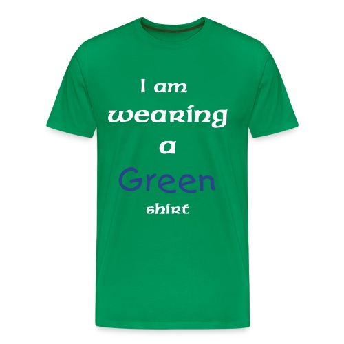 Im So Cool Green - Men's Premium T-Shirt