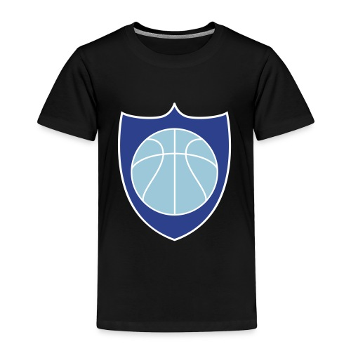 Basketball Champions Shield Team Shirts - Toddler Premium T-Shirt