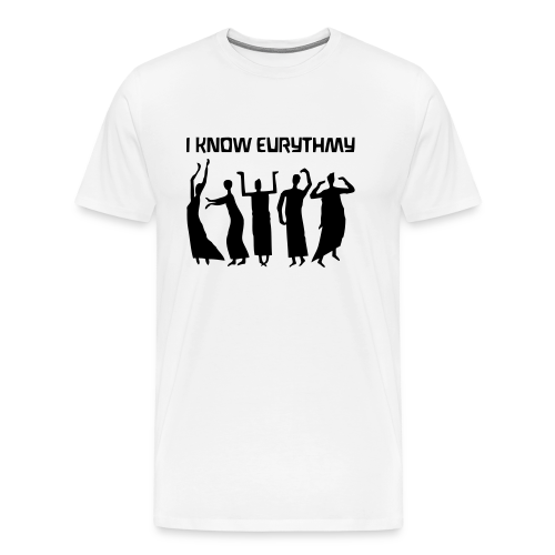 I KNOW EURYTHMY - Men's Premium T-Shirt