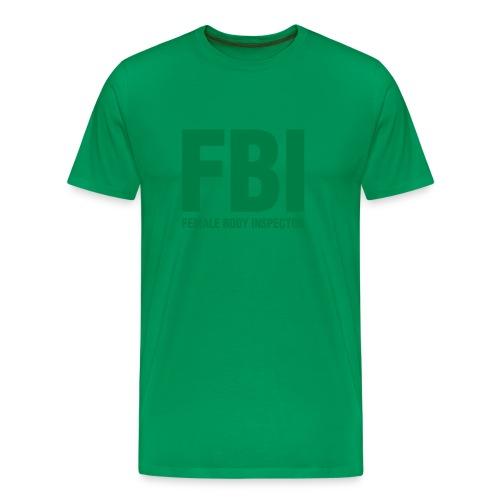 Female Body Inspector - T-shirt premium pour hommes