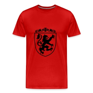 Lion's Den - Red/Black - Men's Premium T-Shirt