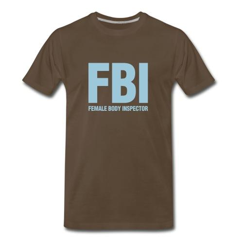 Female Body Inspector - Men's Premium T-Shirt