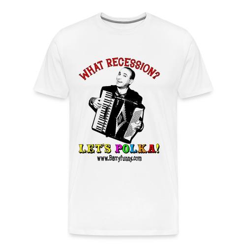 Men's 3XL T-Shirt/White - Men's Premium T-Shirt