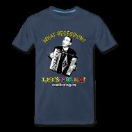 T-Shirts ~ Men's Premium T-Shirt ~ Men's 3XL T-Shirt/Navy