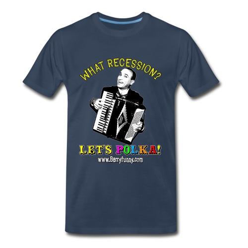 Men's 3XL T-Shirt/Navy - Men's Premium T-Shirt