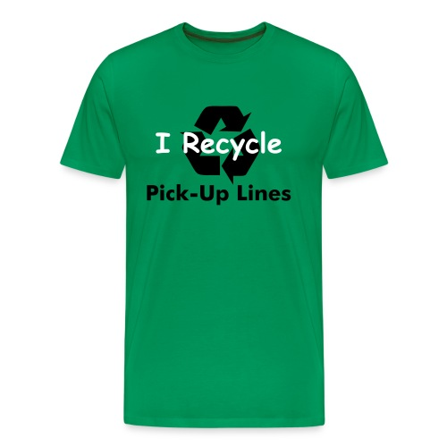 Green Recycle T-Shirt - Men's Premium T-Shirt